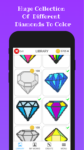 Diamond Color By Number apkmind screenshots 6