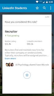 LinkedIn Students- screenshot thumbnail