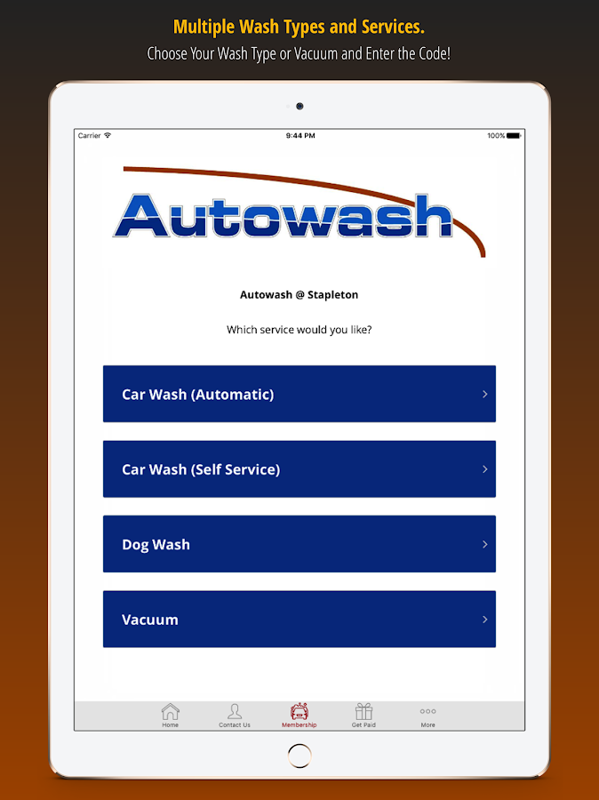 Autowash Car Washes- screenshot