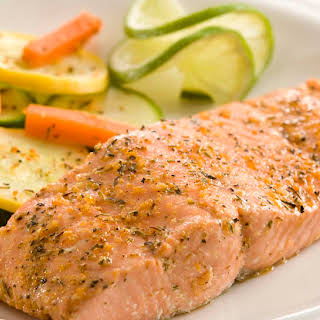 Herb Baked Salmon.