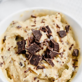 Paleo Edible Chocolate Chip Cookie Dough.