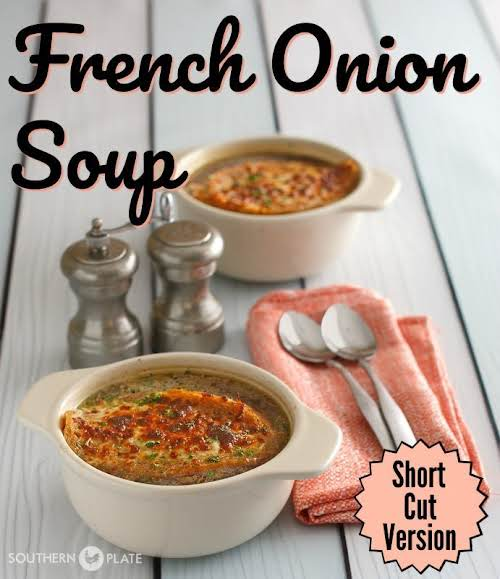 "Restaurant Style French Onion Soup""A deeply flavorful french onion soup, perfect on..."