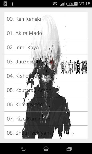 Quotes from Tokyo Ghoul