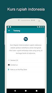 Kurs rupiah indonesia - náhled