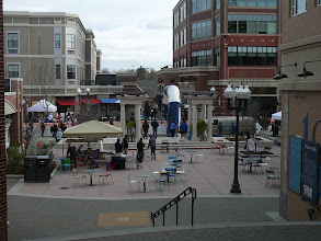 """Photo: """"The Square"""" as viewed from 'Webster Walk' Barnes&Noble is just off-camera to the right"""