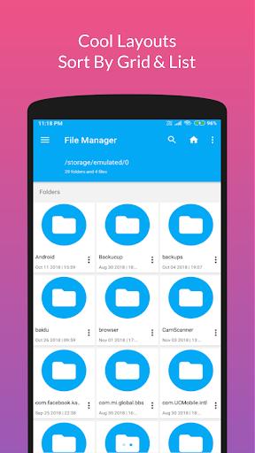 Retro File Manager/Explorer Pro - 2020 screenshots 2