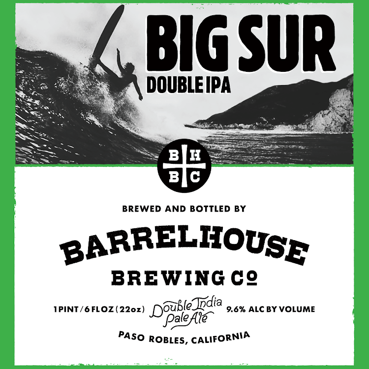 Logo of BarrelHouse Big Sur Double IPA