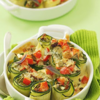Courgette Roulades
