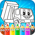 Pintura de coches para niños icon