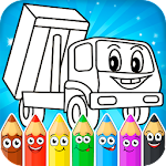 Painting cars for kids Icon
