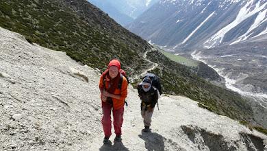 Photo: Aufstieg nach Dharamsala
