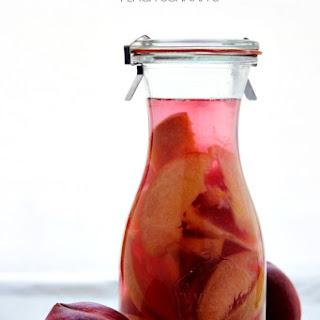 Homemade Peach Schnapps