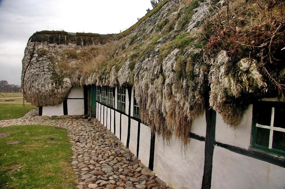 Seaweed House, as casas de algas da Ilha de Læsø