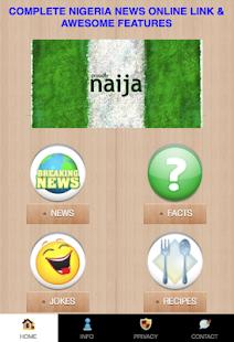NIGERIAN ONLINE NEWS LINK - náhled