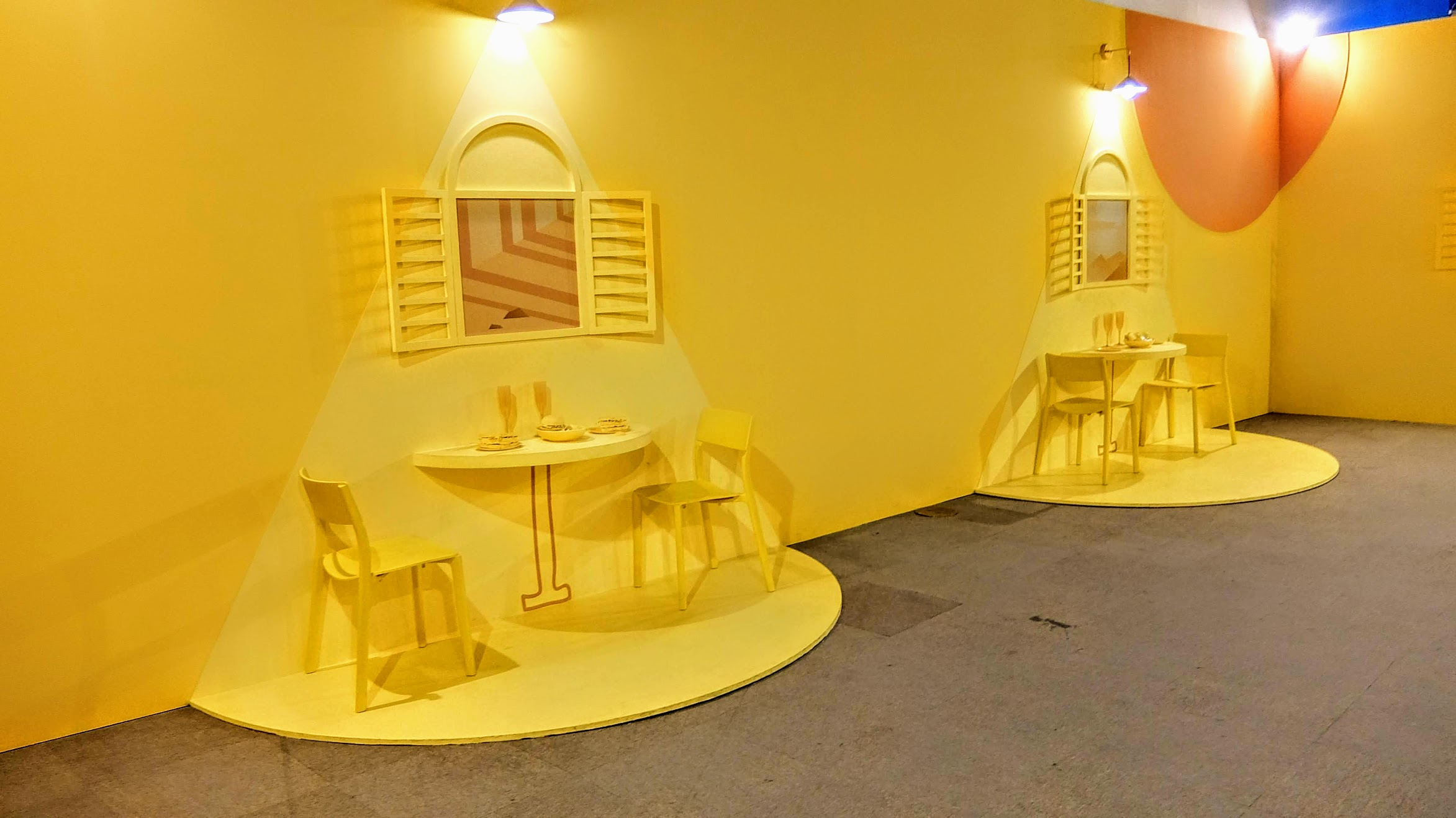 第四關,活力滿點的早餐店! 不過我覺得顏色搭起來比較像是下午茶