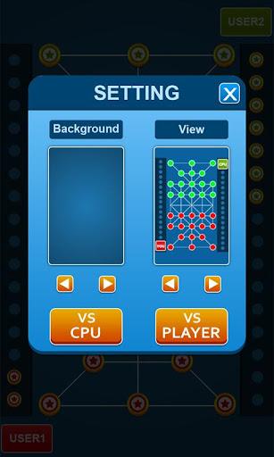 Bead 16 - Tiger Trap ( sholo guti ) Board Game ud83eudde0 1.05 screenshots 7