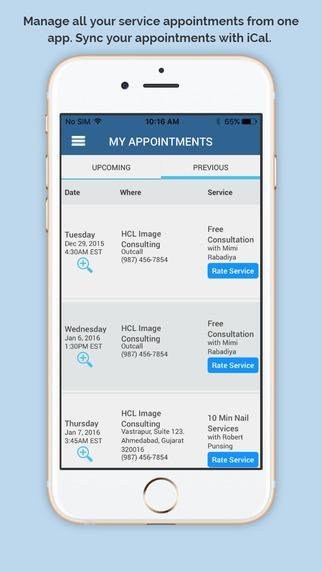 Consumer Appointment Manager- screenshot