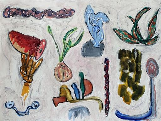 Artist John Miranda Draws From Chicano Styles, Border Life In New Show