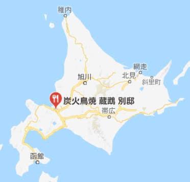 地図:蔵鵡(きすむ)別邸
