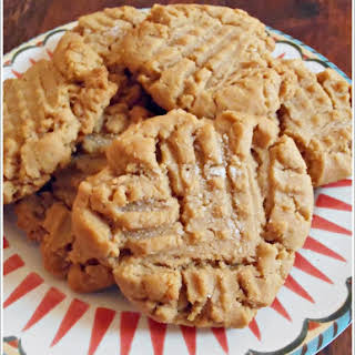 Browned Butter Peanut Butter Cookies.