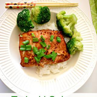 Teriyaki Salmon & Broccoli