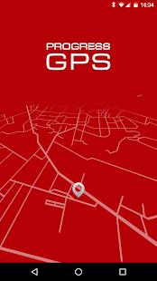 Progress GPS Terminal Mobilny - náhled