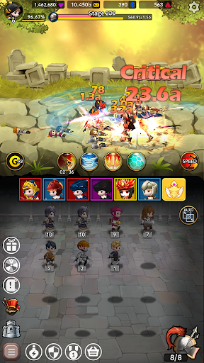 Idle Fantasy Merge RPG screenshot 7
