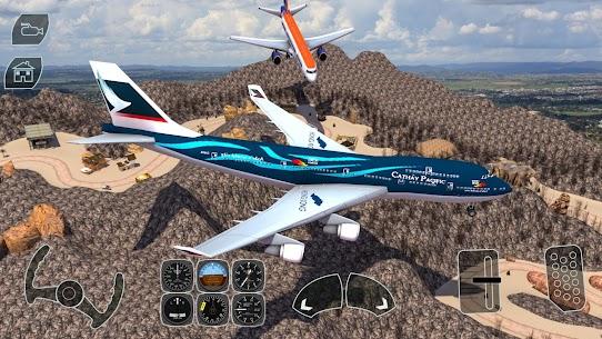 Take off Airplane Pilot Race Flight Simulator 3