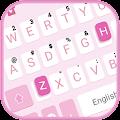 Simple Pink Keyboard Theme APK