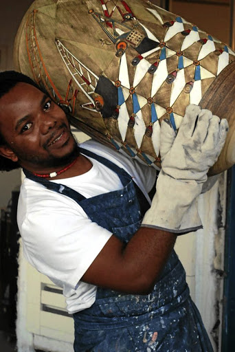 Andile Dyalvane works wonders with clay.