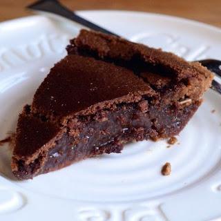 Chocolate Cinnamon Chess Pie