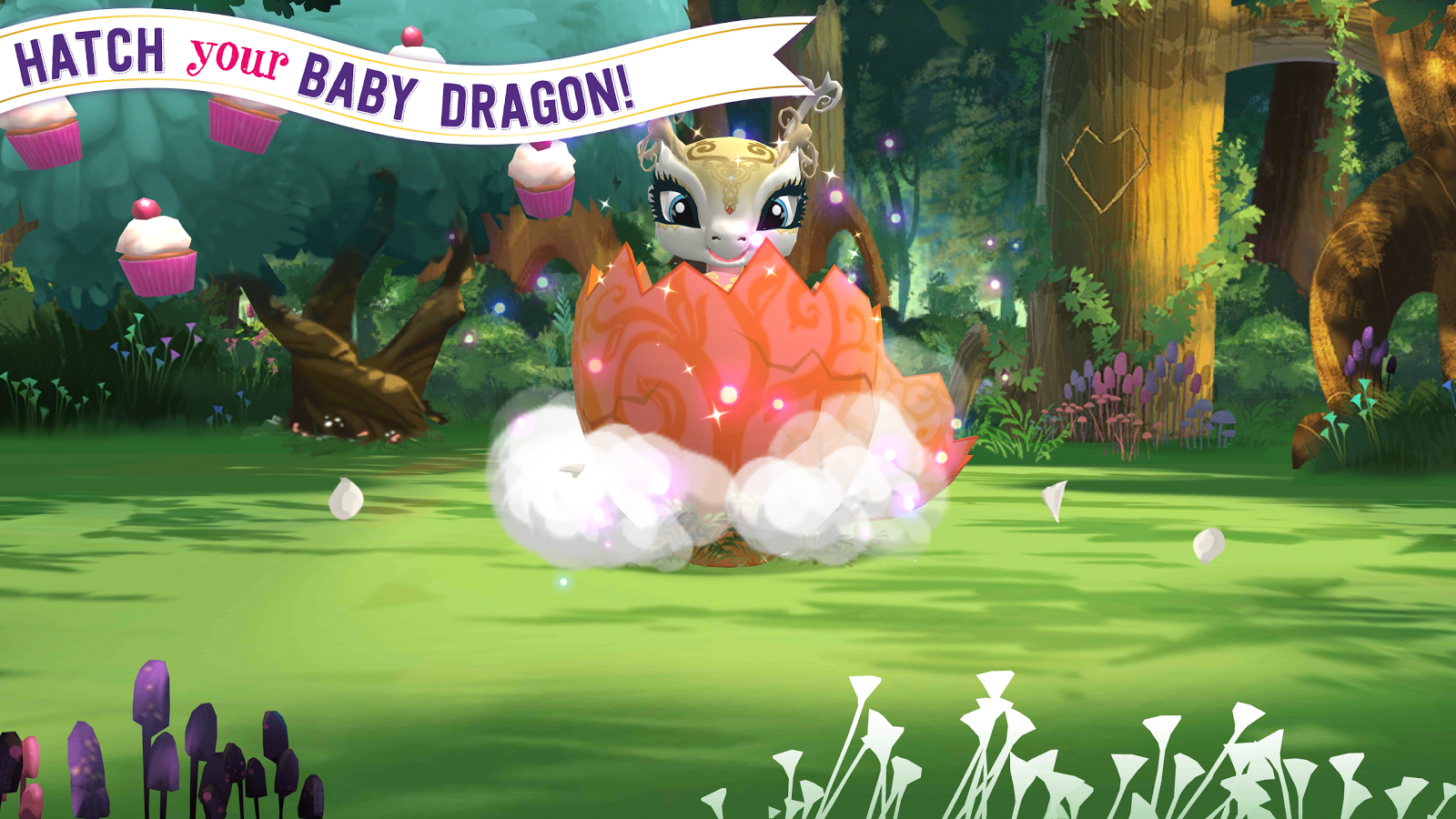 Ever After High™: Baby Dragons- screenshot