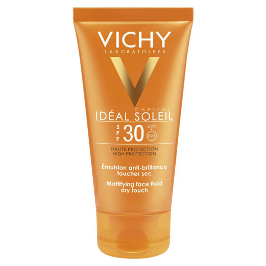 Vichy Idéal Soleil Dry Touch Solcreme ansikte SPF30 50 ml