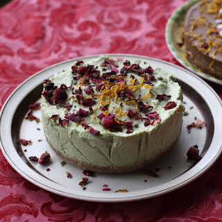 Raw Avocado and Coconut Cheesecake.
