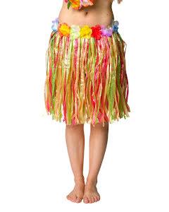 Hawaiikjol med blommor