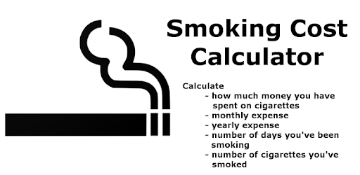 smoking cost calculator apps on google play