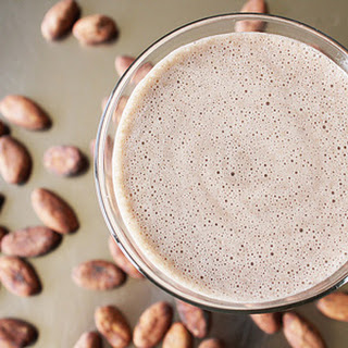 Raw Cacao Banana Smoothie