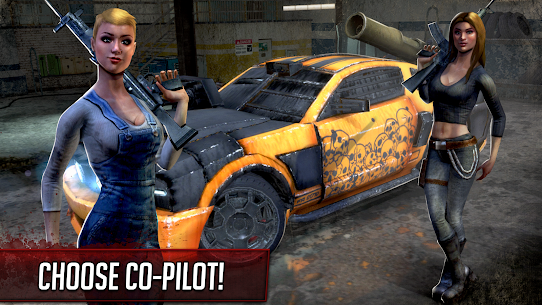 Death Race ® – Shooting Games in Racing Cars 4