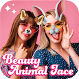 Live Face Selfie Sweet Camera - Beauty Animal Face