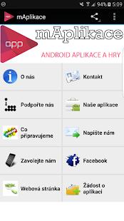 Download mAplikace For PC Windows and Mac apk screenshot 1