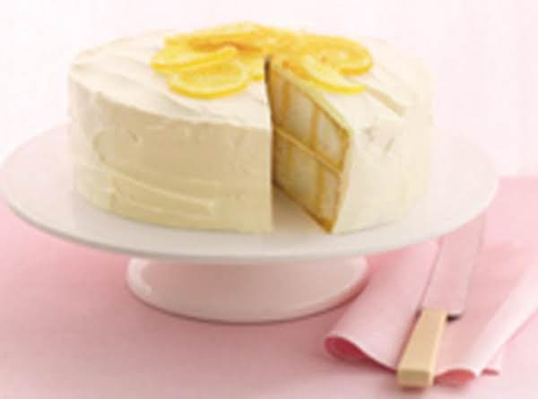 Luscious Lemon Poke Cake