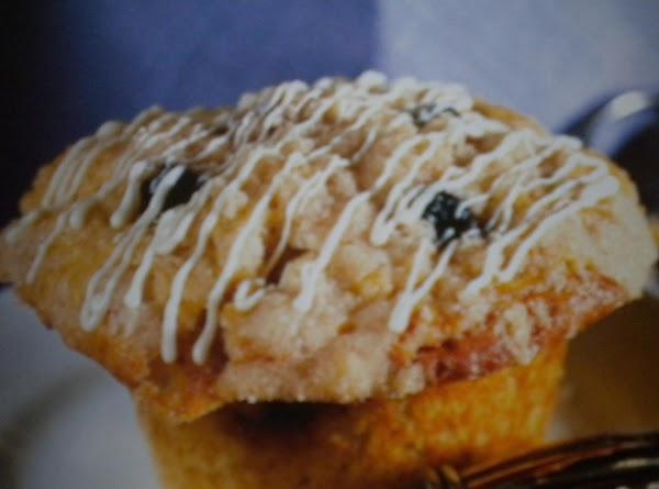 Blueberry White Chip Muffins Recipe