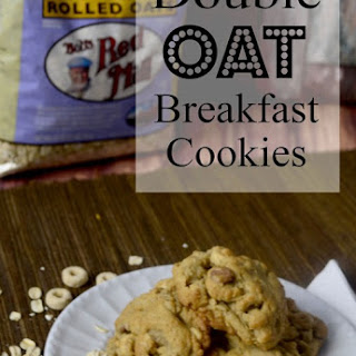 #BrunchWeek Double Oat Breakfast Cookies