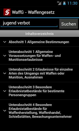 Strafrecht - Strafgesetze screenshot 4