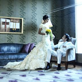 Wedding Beauty by Teraku Nomiya - Wedding Bride & Groom ( wedding beauty )