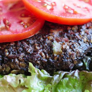 Mushroom Walnut Veggie Burgers