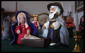 Photo: Maria, Joseph und Jesus