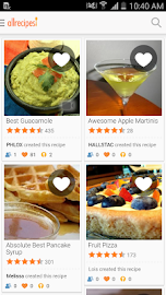 Allrecipes Dinner Spinner Screenshot 1