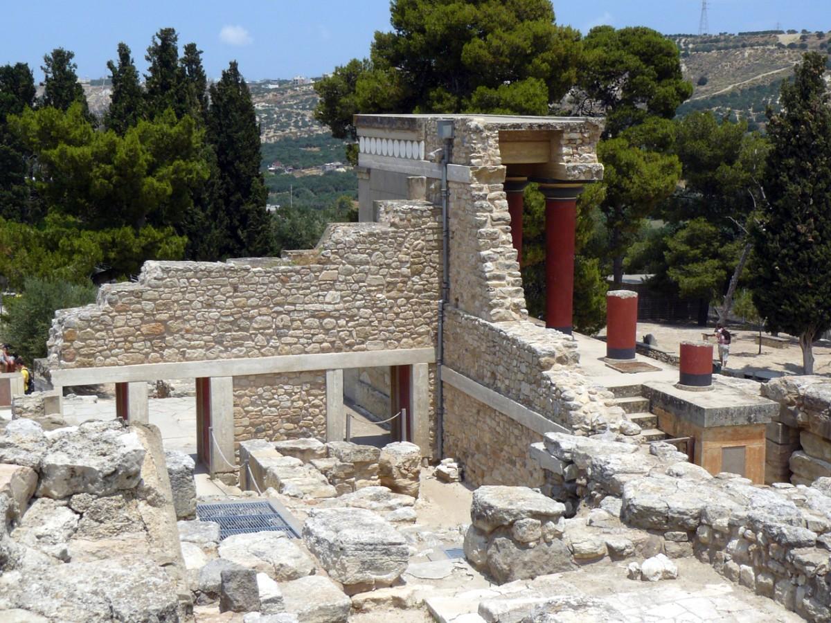 Palazzo di Cnosso, Knossos Palace Creta