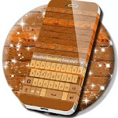 Wood Keyboard Theme
